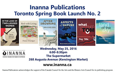 Launch of Rhoda Green's Aspects of Nature May 25, 2016